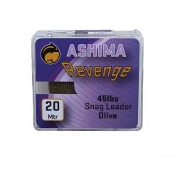 Ashima Revenge Snag Leader 45lbs 20m