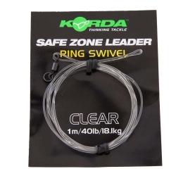 Korda Kamo Leader Hybrid Clip 40lb Clear
