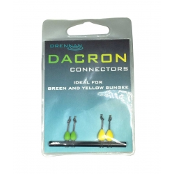 Drennan Dacron Connectors Green en Yellow