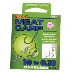 Middy Meat Carp Onderlijnen (6x)