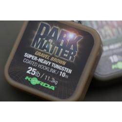 Korda Dark Matter Super Heavy Tungsten Coated Hooklink