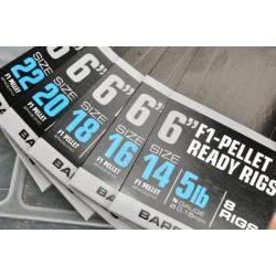 Guru F1-Pellet Ready Rigs 15cm