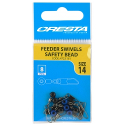 Cresta Feeder Swivel Safety Bead