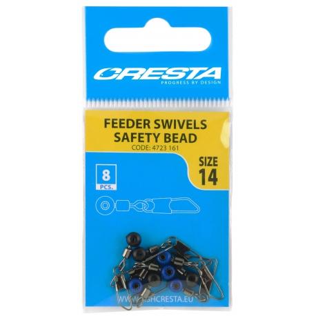 Cresta Feeder Swivel Safety Bead